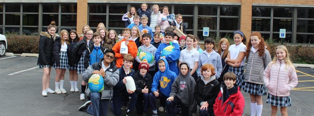 sixth grade community service