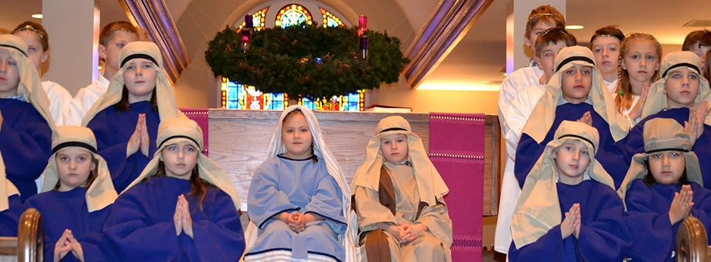 Nativity Scene Younger Kids