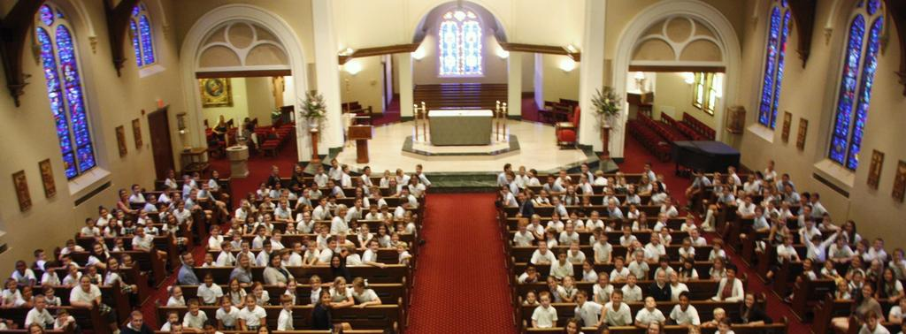 Student Body in Church